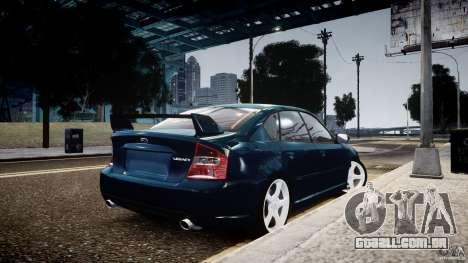Subaru Legacy B4 GT para GTA 4 esquerda vista