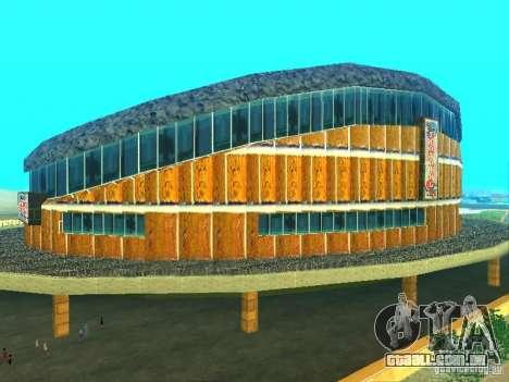 O novo edifício do ve para GTA San Andreas segunda tela