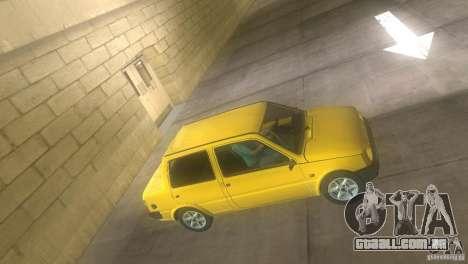 VAZ 1111 Oka Sedan para GTA Vice City deixou vista