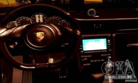 Porsche 911 Sport Classic para GTA San Andreas vista inferior