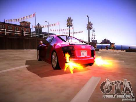 Efeitos do tubo de escape para GTA San Andreas segunda tela