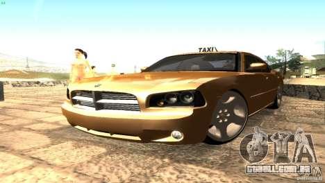 Dodge Charger SRT8 Re-Upload para GTA San Andreas traseira esquerda vista