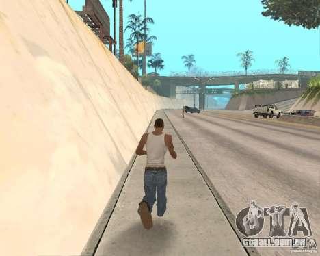 Sprint System v1.0 para GTA San Andreas segunda tela