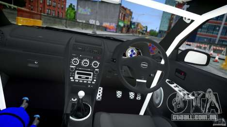 Toyota Altezza para GTA 4 vista lateral