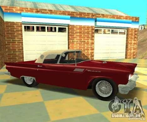 Ford Thunderbird 1957 para GTA San Andreas