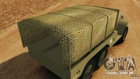 Dodge WC-62 3 Truck para GTA 4 motor