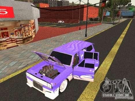 Lowrider GAZ 24-12 para GTA San Andreas traseira esquerda vista