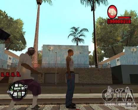 HUD by Russkiy para GTA San Andreas segunda tela