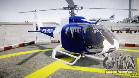 Eurocopter EC 130 Finnish Police para GTA 4 vista direita