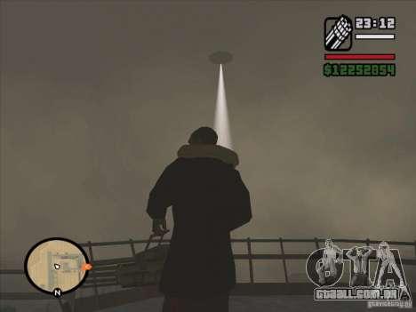 Misteriosos OVNIs na área 51 para GTA San Andreas terceira tela