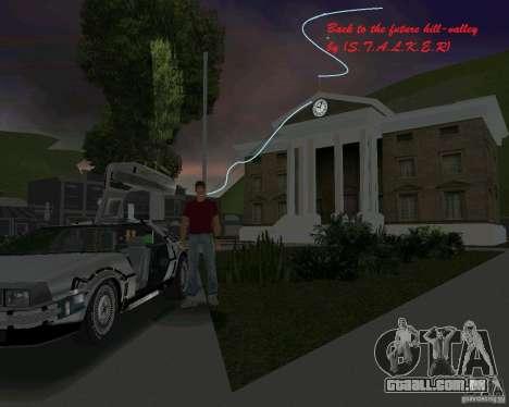 Volta para o futuro de Hill Valley para GTA Vice City