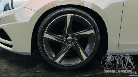 Volvo S60 R Design para GTA 4 vista superior
