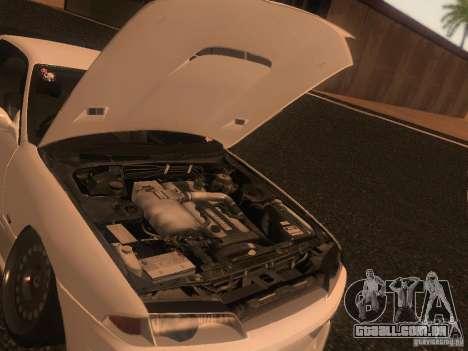 Nissan Skyline GTS R32 JDM para GTA San Andreas interior