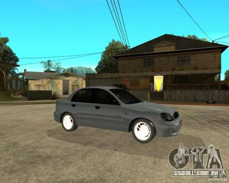 Daewoo Lanos para GTA San Andreas vista direita