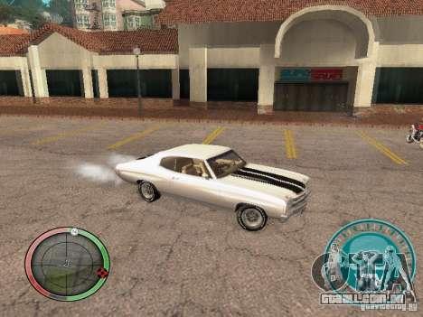 Skul Speedometer para GTA San Andreas terceira tela