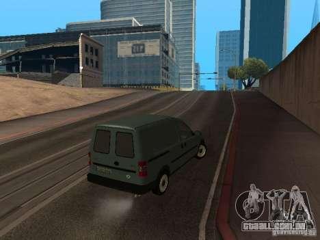 Opel Combo 2005 para GTA San Andreas vista direita