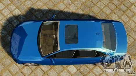 Audi A4 2010 para GTA 4 vista direita