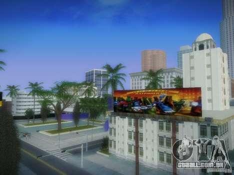 Novos cartazes em todo o estado para GTA San Andreas por diante tela