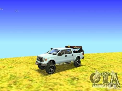 Ford F-150 Off Road para GTA San Andreas