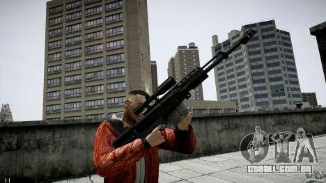 Accuracy International AS50 para GTA 4 segundo screenshot