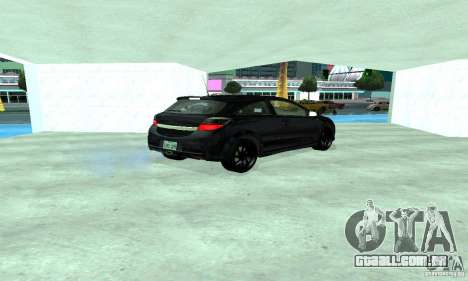 Opel Astra GTS para GTA San Andreas vista traseira