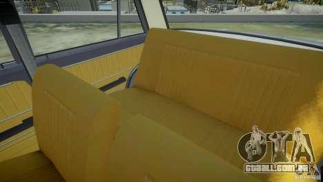 Estoque de 2101 VAZ para GTA 4 vista superior