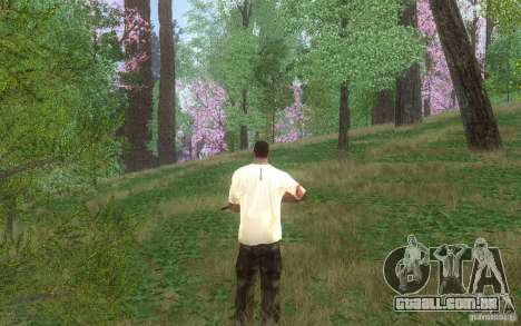 Spring Season para GTA San Andreas por diante tela