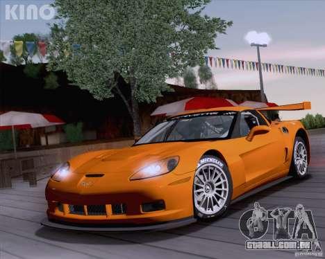 Chevrolet Corvette C6 Z06R GT3 v1.0.1 para GTA San Andreas