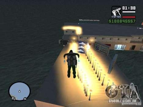 Night moto track para GTA San Andreas terceira tela