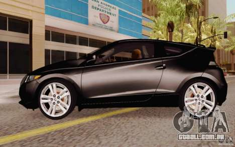 Honda CR-Z 2010 V3.0 para GTA San Andreas esquerda vista