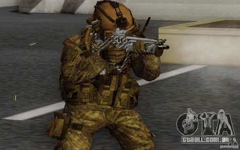 Tavor Tar-21 Carbon para GTA San Andreas segunda tela