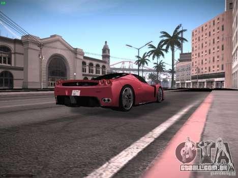 LiberrtySun Graphics ENB v2.0 para GTA San Andreas nono tela