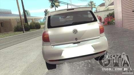 Volkswagen Fox 2013 para GTA San Andreas esquerda vista