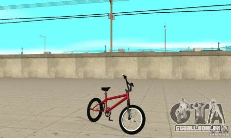 Powermatic BMX 2006 para GTA San Andreas esquerda vista
