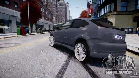 Ford Focus ST (X-tuning) para GTA 4 traseira esquerda vista
