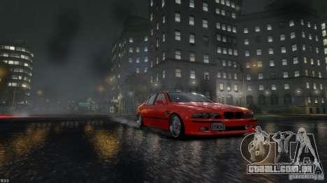 BMW M5 E39 BBC v1.0 para GTA 4 esquerda vista