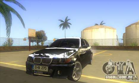 BMW 325i E46 v2.0 para GTA San Andreas
