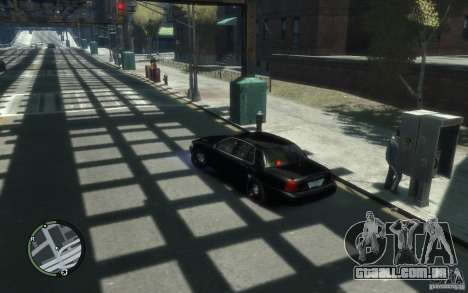 Crown Victoria para GTA 4 esquerda vista