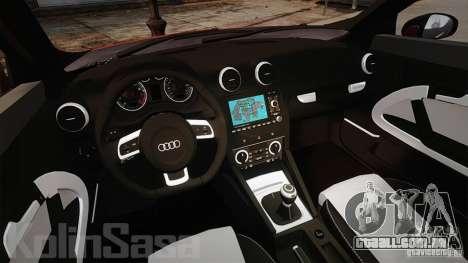 Audi A1 Quattro para GTA 4 vista de volta