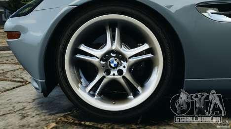 BMW Z8 2000 para GTA 4 vista lateral