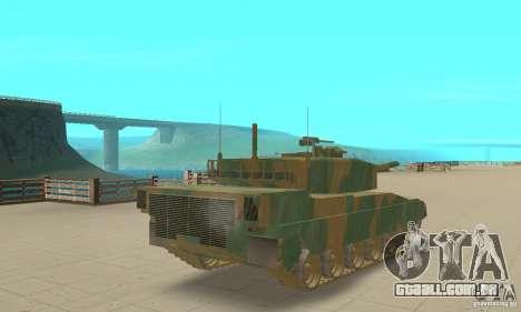 JGSDF Type90 tanque para GTA San Andreas