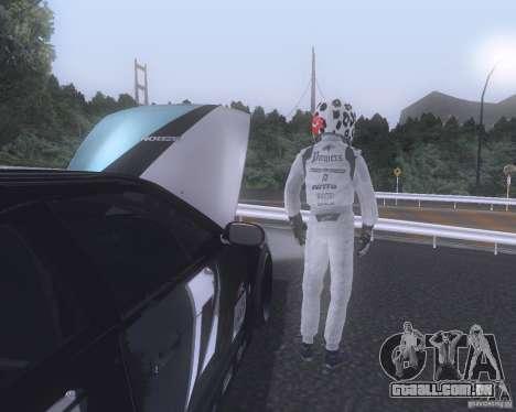 Matt Powers NFS Team para GTA San Andreas segunda tela