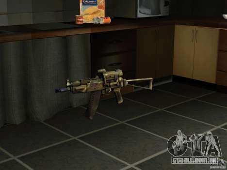 Pak versão doméstica armas 4 para GTA San Andreas por diante tela