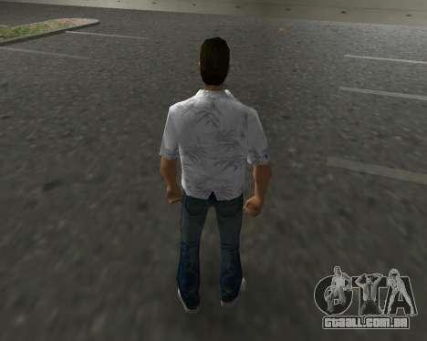 Camisa branca para GTA Vice City terceira tela