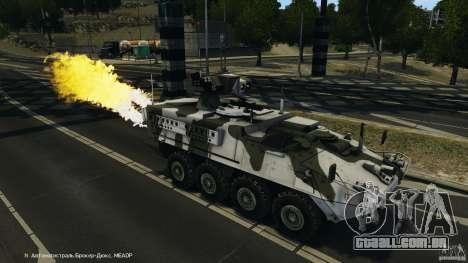 Stryker M1134 ATGM v1.0 para GTA 4 interior