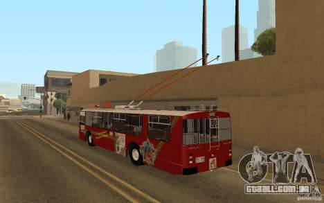 ZiU 682 para GTA San Andreas traseira esquerda vista