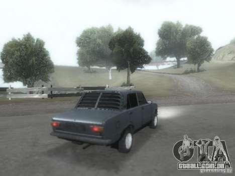 VAZ 2101 para GTA San Andreas vista superior