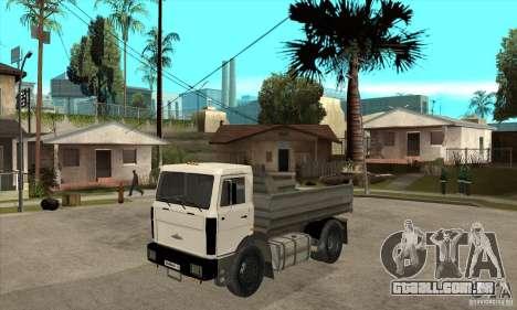 5551 MAZ caminhão para GTA San Andreas