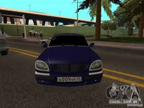 GAZ Volga 31105 restyling para GTA San Andreas vista direita