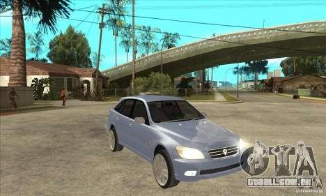 Toyota Alteza Wagon para GTA San Andreas vista traseira
